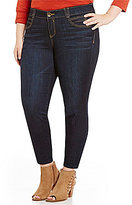 "Democracy Plus ""Ab"" Solution Dark Wash Jegging"