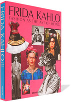 Assouline Frida Kahlo: Fashion As The Art Of Being Hardcover Book - Red