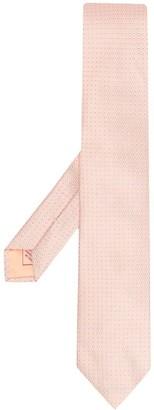 Brioni Square Patterned Silk Tie