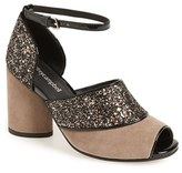 Jeffrey Campbell Women's 'Bibana' Glitter Sandal