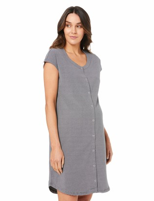 Ripe Maternity Women's Blake S/SLV Button Up Nightie
