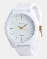 Roxy Womens Messenger 42mm Silicone Watch