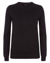 Jaeger Hotfix Embellished Sweater