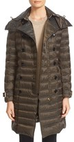 Burberry Women's 'Chesterford' Belted Double Breasted Down Coat
