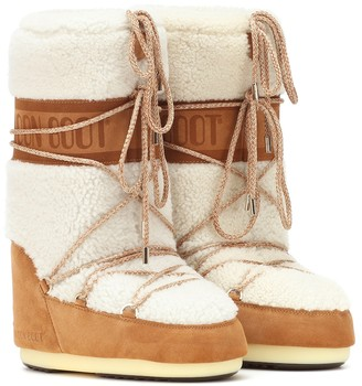 Moon Boot Classic shearling boots