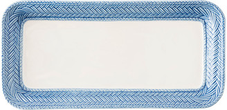 Juliska Le Panier White/Delft Blue Hostess Tray
