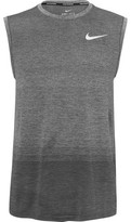 Nike Running - Dri-fit Tank Top - Gray