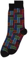 Hot Sox Stripe Maze Socks
