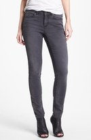 Vince Camuto Two by 'Stone' Stretch Skinny Jeans (Dark Stone)