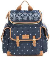 Carter's Baby Go Bandana Backpack Diaper Bag in Blue
