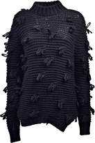 Simone Rocha Chunky Knitted Fringe Sweater