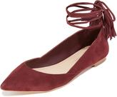 Loeffler Randall Penelope Ankle Wrap Flats