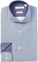 Isaac Mizrahi Neat Dot Slim Fit Dress Shirt