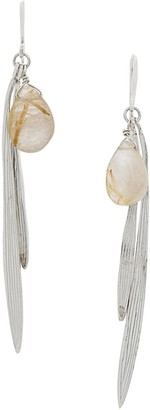 Wouters & Hendrix My Favourites Rutilated Quartz earrings