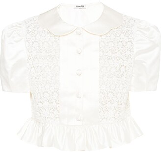 Miu Miu Duchess blouse