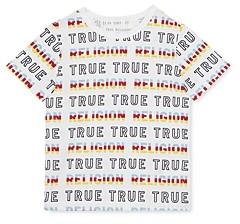 True Religion Boys' Repeat Logo Tee - Little Kid, Big Kid