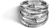 John Hardy Women's Bamboo Ring in Sterling Silver