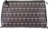 Thomas Wylde Leather Abstract Print Clutch