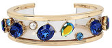 Betsey Johnson Anchors Away Resin Cuff