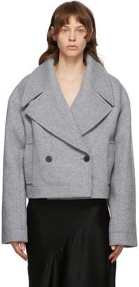Haider Ackermann Grey Wool Savoia Jacket