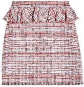 Karl Lagerfeld Peplum Boucle Skirt