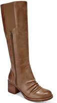 Bare Traps Dallia Block-Heel Wide-Calf Boots