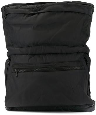 Julius Buckle-Detail Zipped Backpack