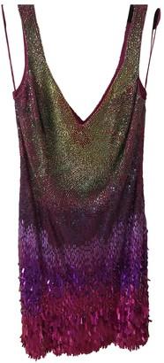Jenny Packham Pink Glitter Dresses
