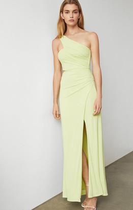 BCBGMAXAZRIA Matte Jersey Cutout Gown