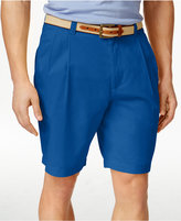 Club Room Men's Big and Tall Double-Pleated Shorts, Only at Macy's
