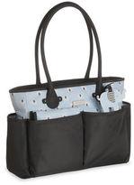 Carter's Blue Elephant Print Tote Diaper Bag
