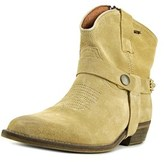 MET Texas Pointed Toe Suede Western Boot.