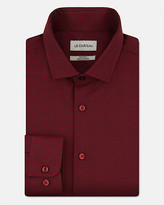 Le Château Tonal Cotton Blend Athletic Fit Shirt