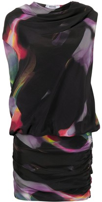 Moschino Pre-Owned Abstract Print Mini Dress