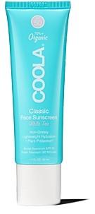 Coola Classic Face Sunscreen Spf 50 - White Tea