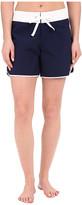 """Tommy Bahama Boardshorts 5"""" Color Block Boardshorts Cover-Up"""
