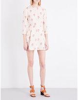 A.L.C. Terry silk-crepe dress