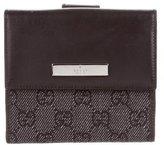 Gucci Denim Compact Wallet