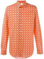 Paul Smith 'Peach' print shirt