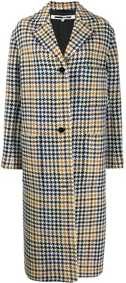 McQ Houndstooth Single-Breasted Coat