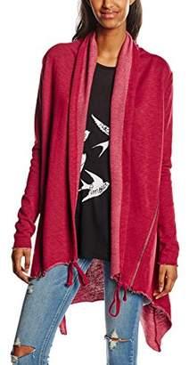 Urban Classic Women's Ladies Terry Cardigan Coat,12 (Size: M)