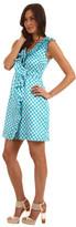 Kate Spade Gingham Aubrey Wrap Dress