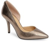 MICHAEL Michael Kors Women's Nathalie Demi D'Orsay Pointy Toe Pump