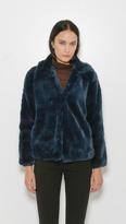 Maryam Nassir Zadeh Helena Short Faux Fur Coat