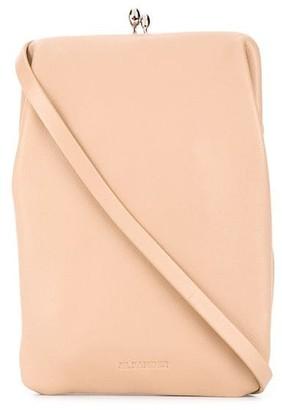 Jil Sander Pastel Pink Top Clip-Fastening Pouch
