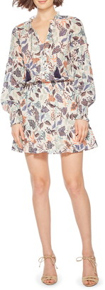 Parker Laura Long Sleeve Minidress