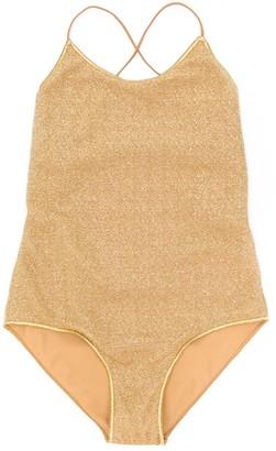 Oseree Kids tie back swimsuit