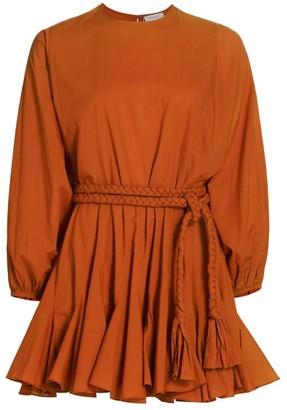 Rhode Resort Ella Braided Belt Mini Dress