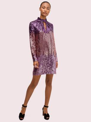 Kate Spade ombre sequin dress