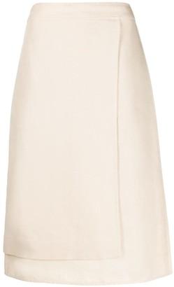 Jil Sander Layered Pencil Skirt
